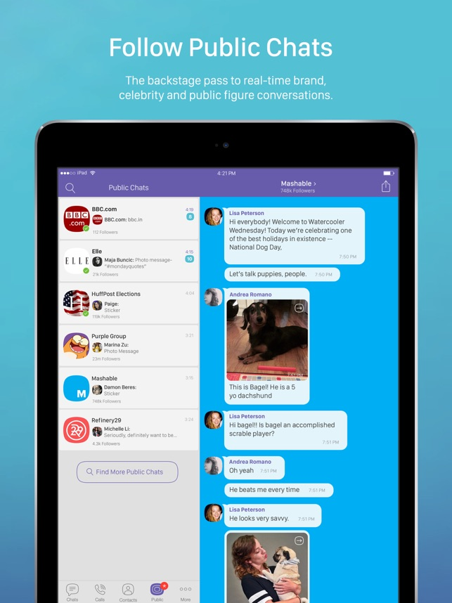 Viber Messenger: Chats & Calls Screenshot