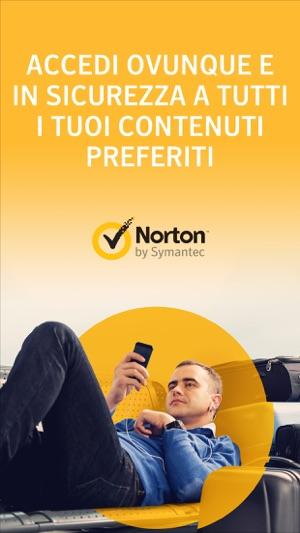 Norton WiFi Privacy VPN Screenshot