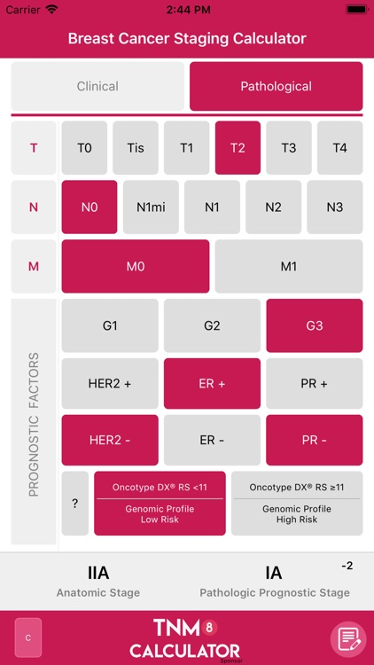 TNM8 Breast Cancer Calculator screenshot-4