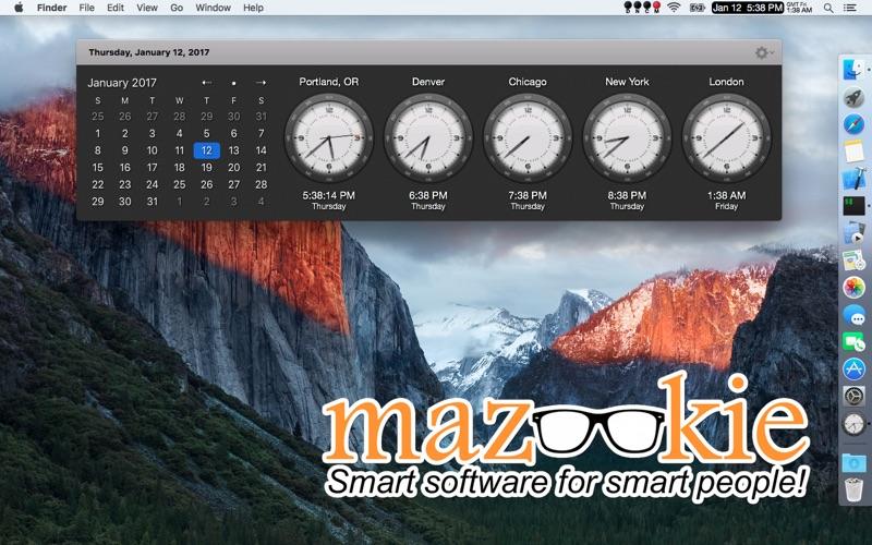 精美闹钟 VistaClock for Mac