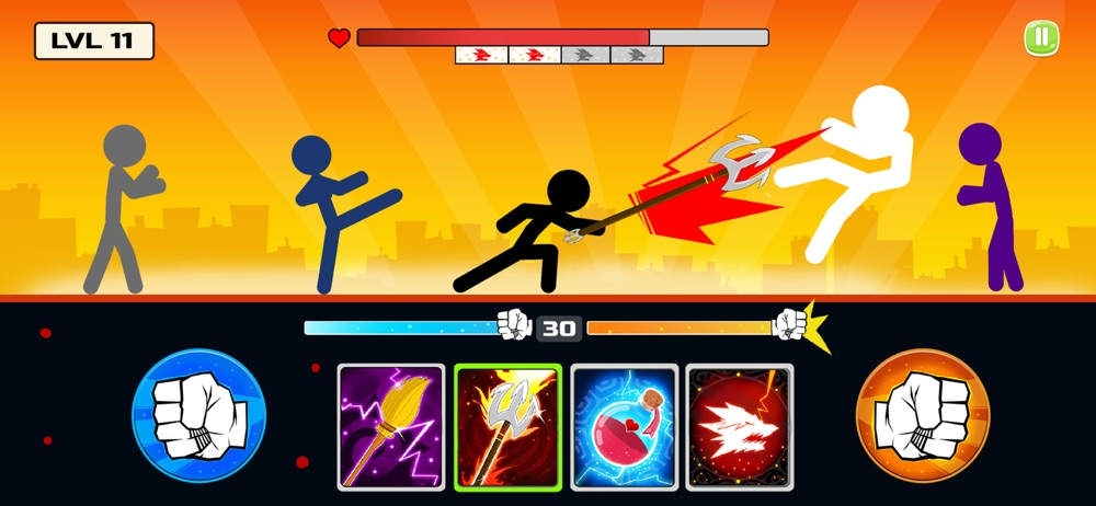 Stickman Fighter : Death Punch hack tool