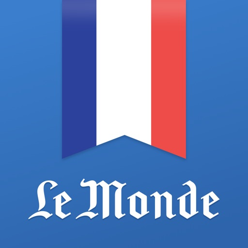 Learn French with Le Monde application logo