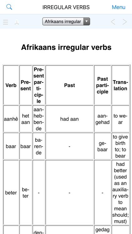 Great English-Afrikaans Dict. screenshot-9
