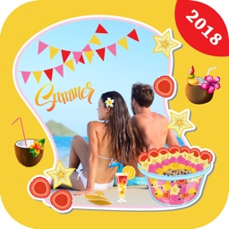 Summer Sticker Photo Editor