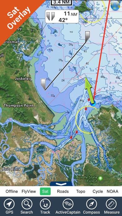 Melbourne GPS Nautical Charts screenshot three