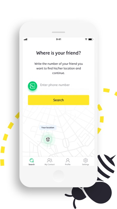 FindBee - Friend Locator Screenshot 2