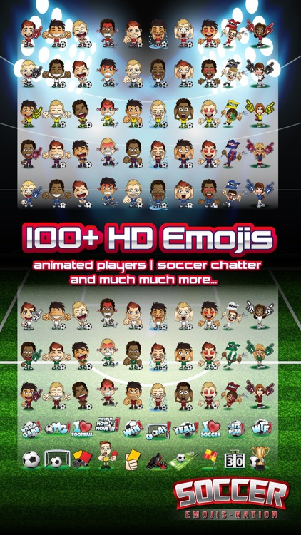 Soccer Emojis Nation