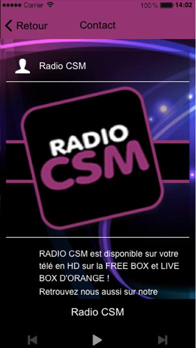 Radio CSM screenshot three