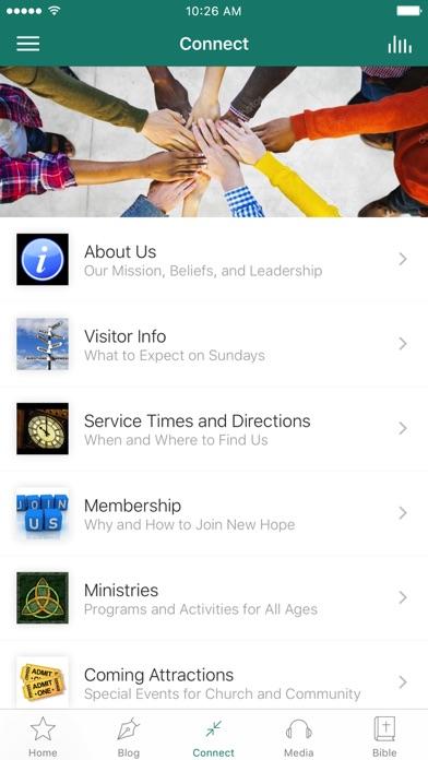 New Hope PCA screenshot 3