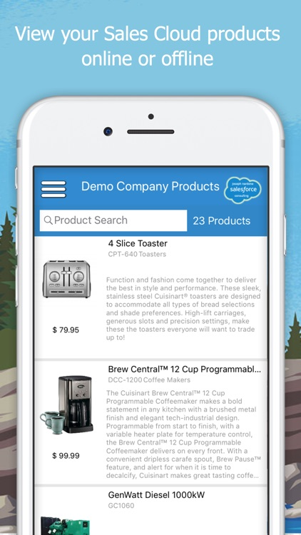 My Products for Salesforce