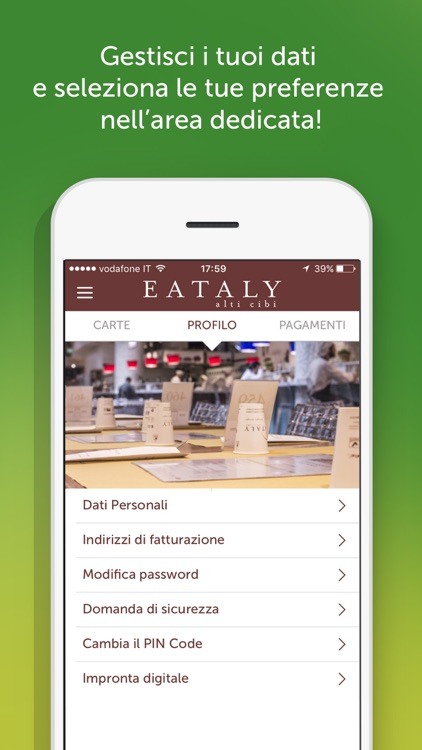 Eataly Pay