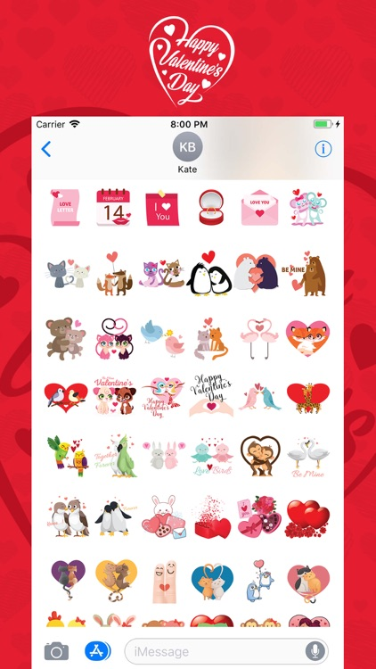 Valentine Moji screenshot-1