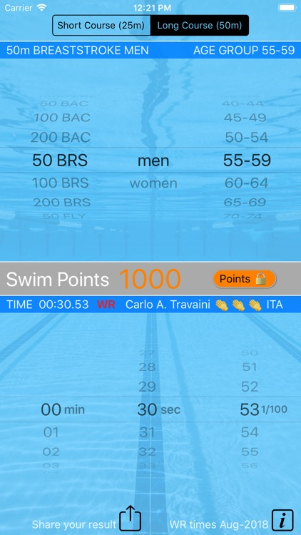 Swim Points: Elite and Masters screenshot-6