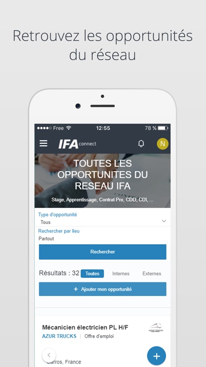 IFA connect app image