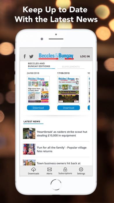 Beccles & Bungay JournalScreenshot of 4