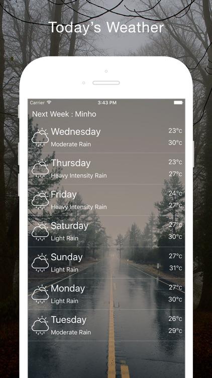Live Weather & Temperature