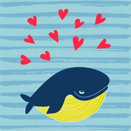 Whale Stickers!
