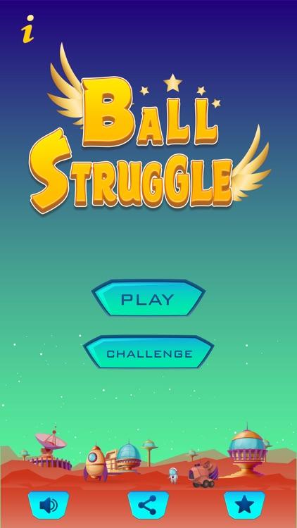 Ball Struggle In Galaxy