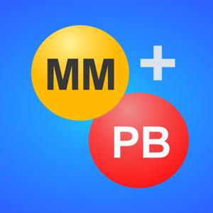 Mega Millions + Powerball app