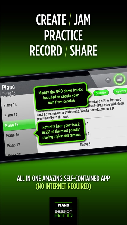 SessionBand Piano - Volume 1 screenshot-3