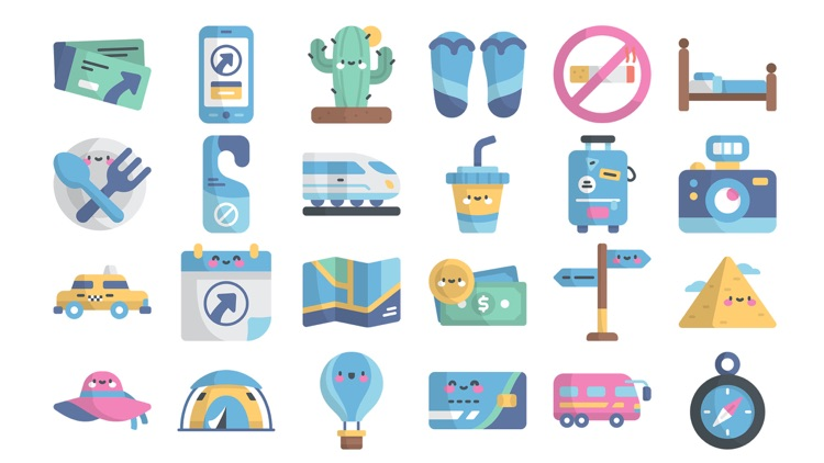 Travel Stickers..