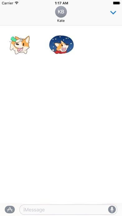 Merry Xmas Corgi Dog Sticker screenshot 3