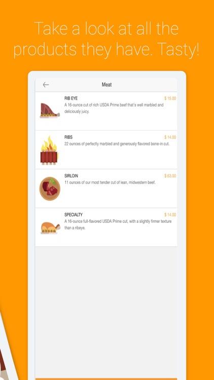 Ordering Food App
