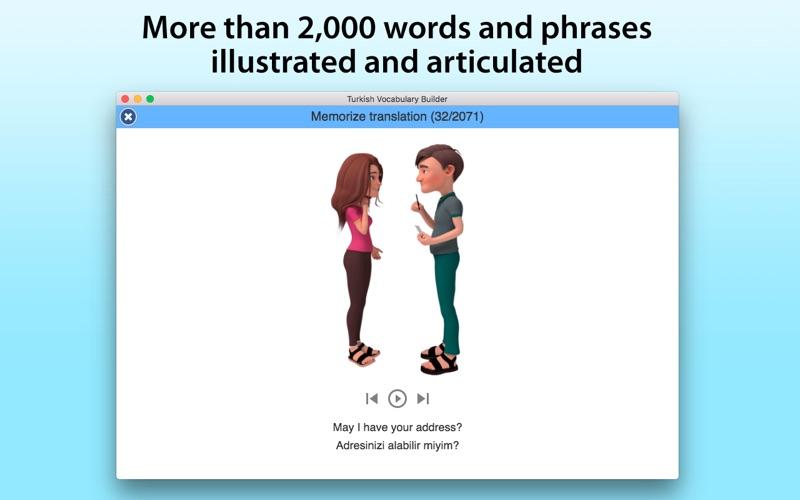Turkish Vocabulary Builder screenshot 1