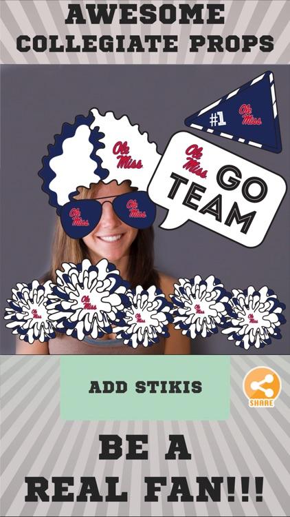 Ole Miss Rebels Selfie Stickers