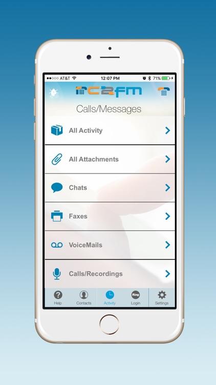 RC2FM Contacts screenshot-3