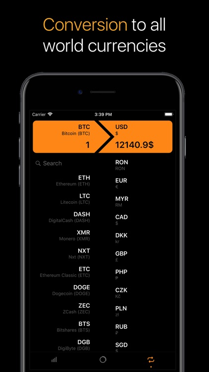 Crypto - rates