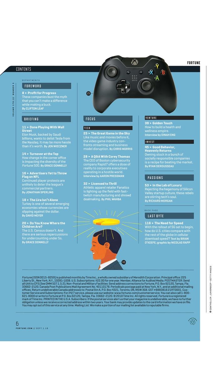 FORTUNE Magazine Screenshot