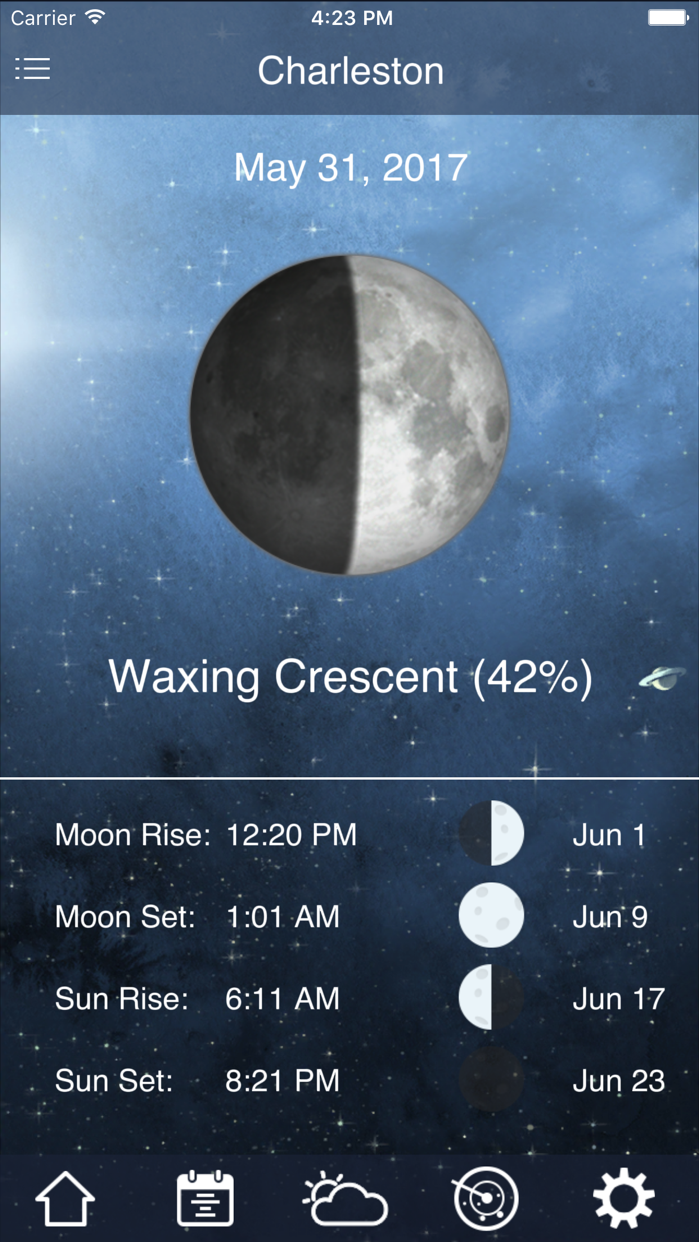 Tide Charts Screenshot