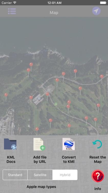 KML Viewer-Converter screenshot-3