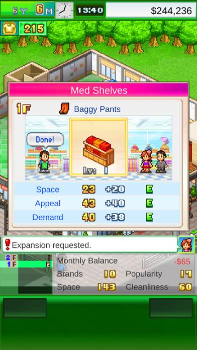 Screenshot #3 pour Pocket Clothier