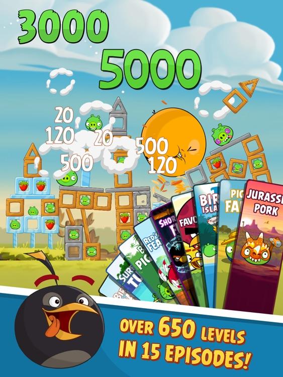Angry Birds HD screenshot-4