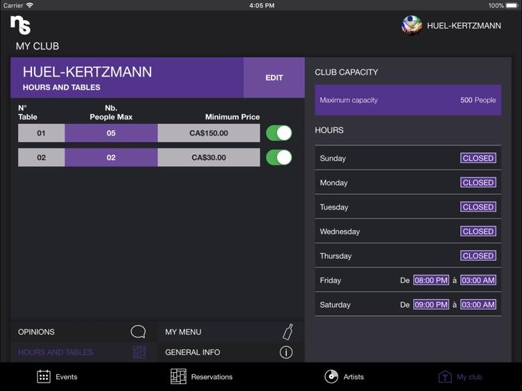 Nightspree for professionals screenshot-4