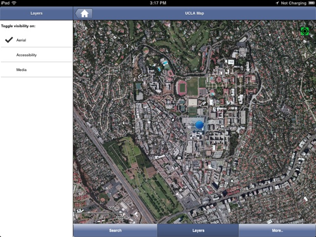 UCLA Campus Map on the App Store