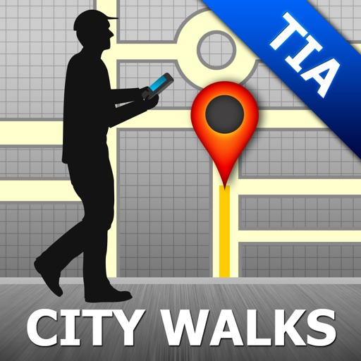 Tirana Map & Walks (F)