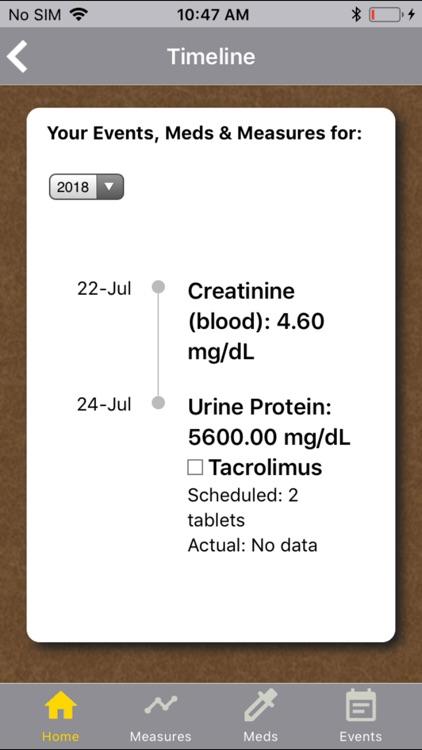 Kidney Health Tracker screenshot-4