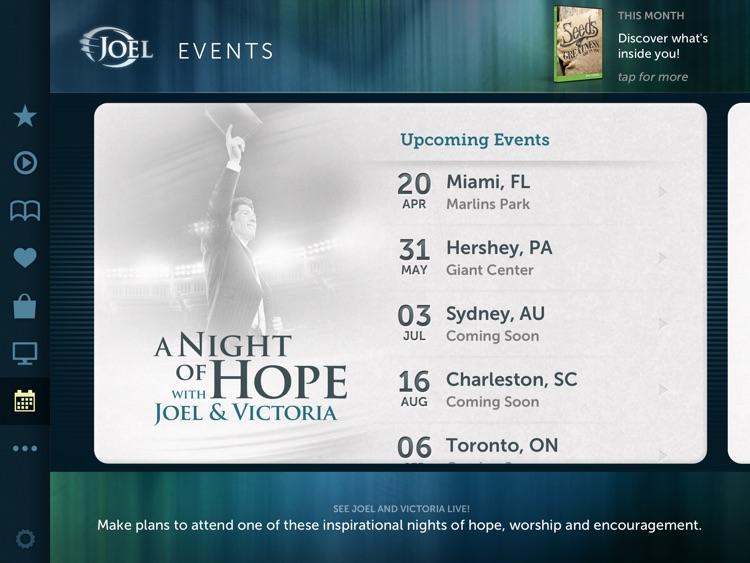 Joel Osteen for iPad screenshot-4