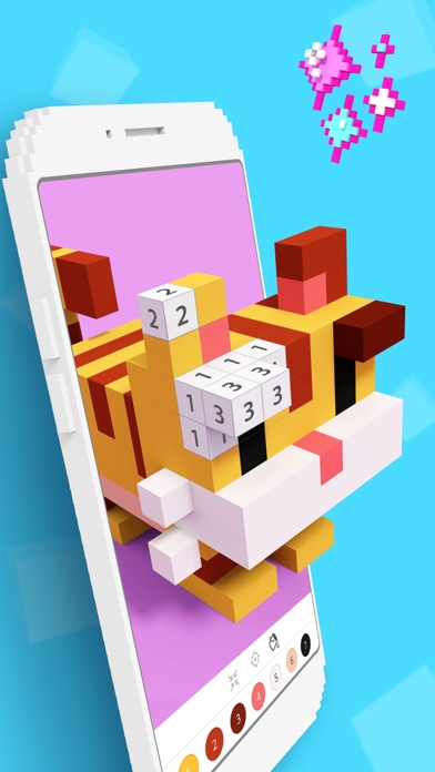 download Voxel - 3D Color by Number apps 0