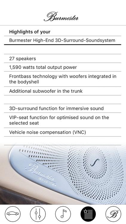 Burmester Soundcheck Daimler screenshot-6
