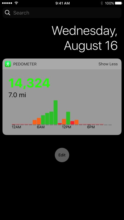 Pedometer++ screenshot-2