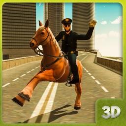 Cop Horse Riding
