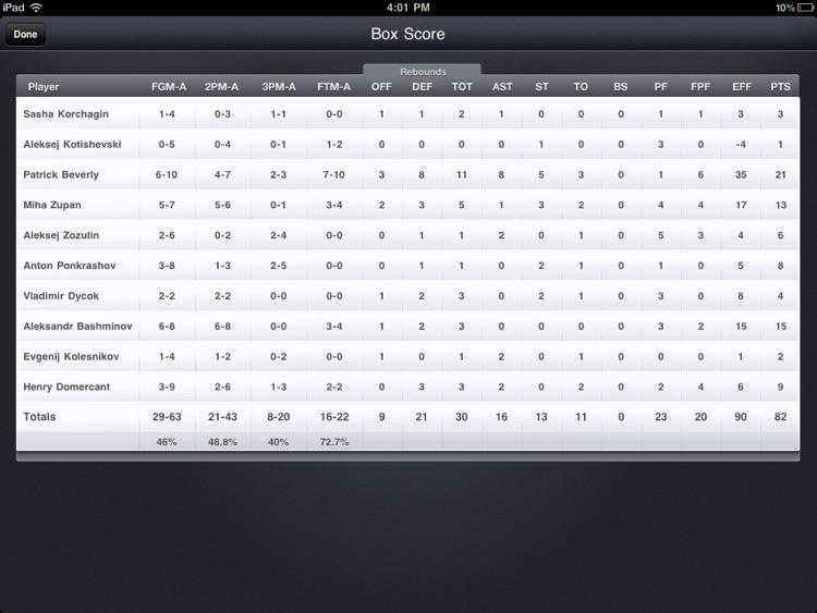 Basketball Stats PRO screenshot-4