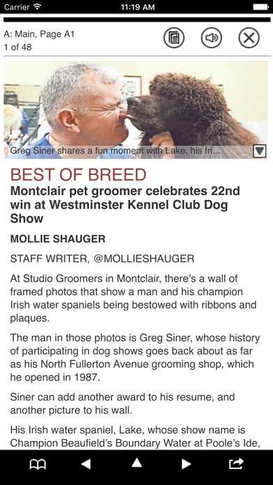 Montclair Times Print Edition Screenshot