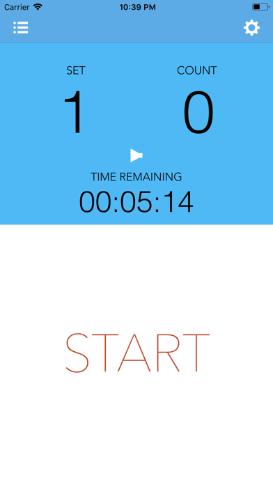 WorkoutTimer screenshot1