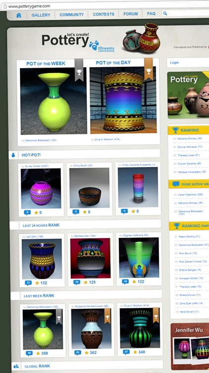 Let's create! Pottery HD screenshot-4