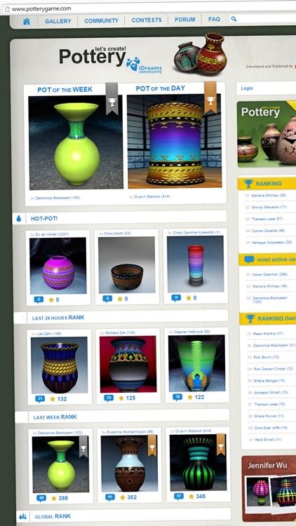 Let's create! Pottery HD screenshot-4